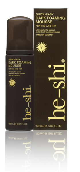 He-Shi Dark Mousse 150ml